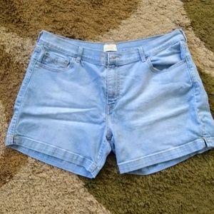 Woman's Levi's shorts